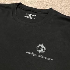 "0ecbcca36e8 Brooks Shirts - Brooks ""Running Warehouse"" wicking Tee"